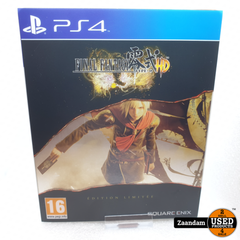 Playstation 4 Game: Final Fantasy Type-0 HD  Limited Edition