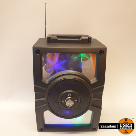 Soundlogic XL Luminous Mirror Party Speaker | Incl. garantie