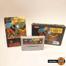 Super Nintendo Game: TinTin Le Temple du Soleil