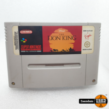 Super Nintendo Game: The Lion King