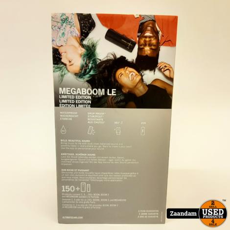 Ultimate Ears Megaboom Panther Bluetooth Speaker | Nieuw in Seal