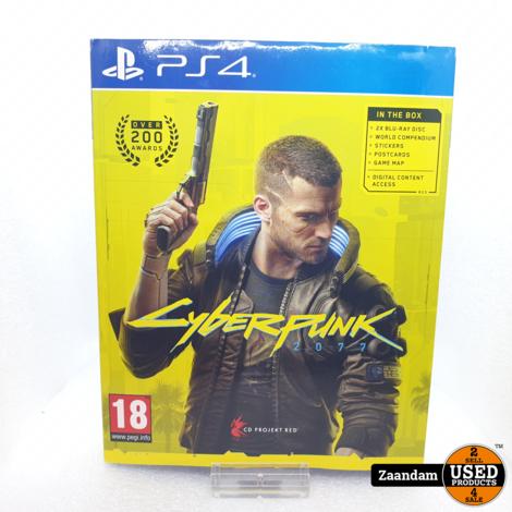 Playatation 4 Game: Cyberpunk 2077