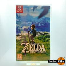Nintendo Switch Game: Zelda Breath of Wild