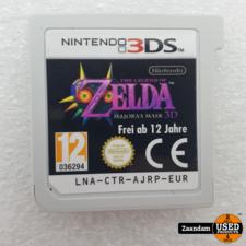 Nintendo 3DS Game: Zelda Majora's Mask 3D