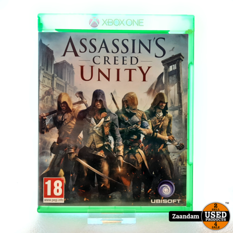 Xbox One Game: Assassins Creed Unity