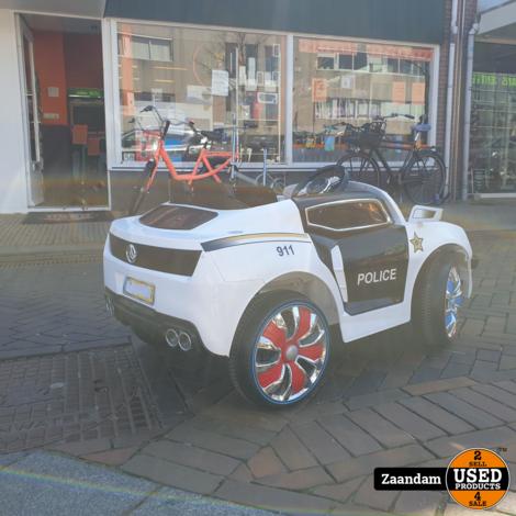 Electrische Politie Auto   Incl. garantie en afstandsbediening