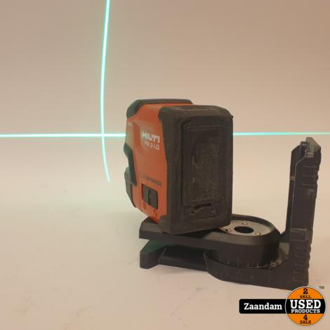 Hilti PM 2-LG Kruislijn Laser Groen | In nette staat