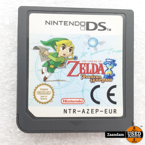 Nintendo DS game: The Legend of Zelda Phantom Hourglass