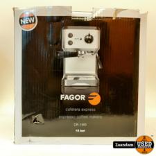 Fagor CR-1500 Espresso Koffiemachine | Nieuw in doos