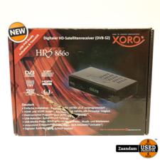Xoro HRS 8660 Digitale Satelliet Ontvanger   Nieuw in doos