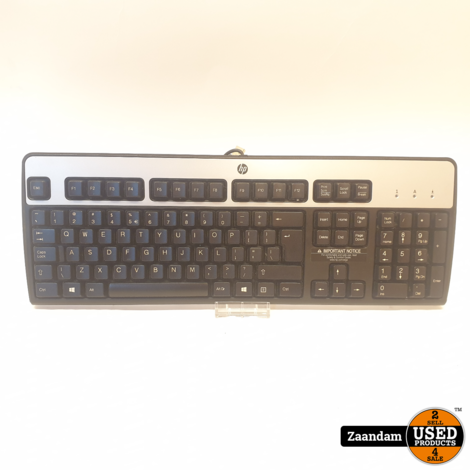 HP KU-0316 Alpha Numeriek USB Toetsenbord   In nette staat