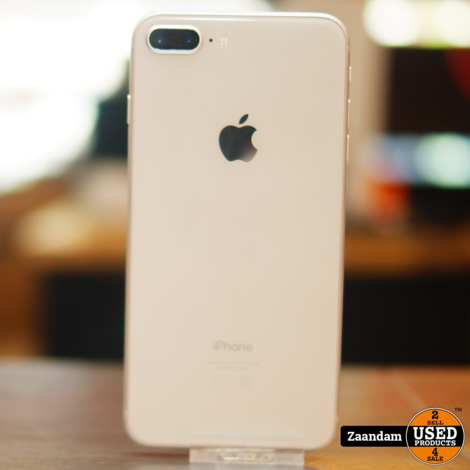 iPhone 8 Plus 64GB Silver   In nette staat