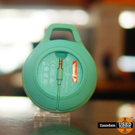 JBL Clip + Turquoise Bluetooth Speaker | Incl. garantie
