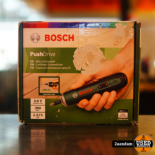 Bosch Pushdrive Accu Schroevendraaier | Nieuw in doos