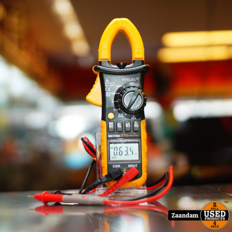 Hyelec MS2108A Multimeter / Piekmeter   Incl. garantie