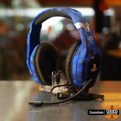 Trust GXT Forze PS4 Gaming Headset Blauw   Incl. garantie