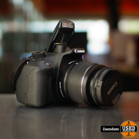 Canon EOS 1200D Fotocamera + 18-55 f/3.5-5.5 Lens | In nette staat | G-19