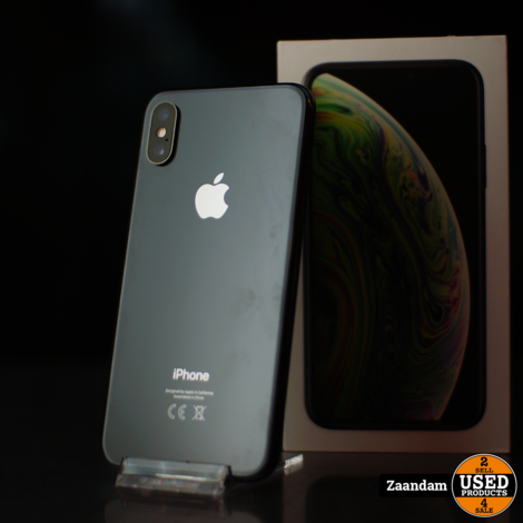 iPhone X 64GB Space Gray   In nette staat