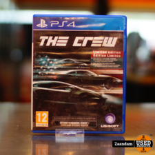 Playstation 4 Game: The Crew Limited Edition