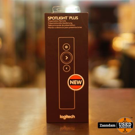 Logitech Spotlight Plus - Afstandsbediening presentatie - 3 knoppen | Nieuw in Seal
