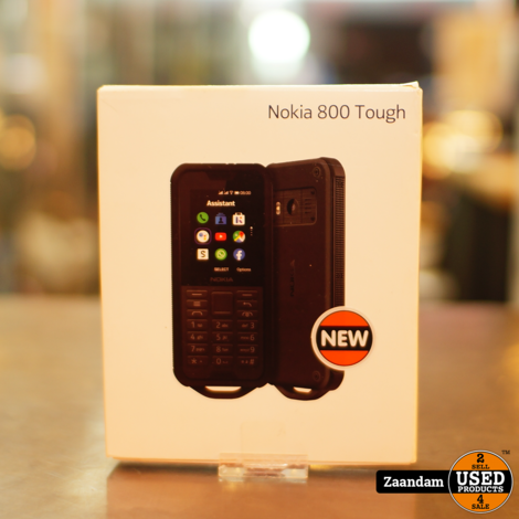 Nokia 800 Touch 4GB Black #1 | Nieuw in Seal