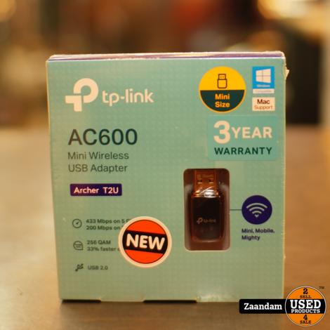TP-Link Archer T2U V3.0 AC600 W-LAN adapter #2   Nieuw in Seal