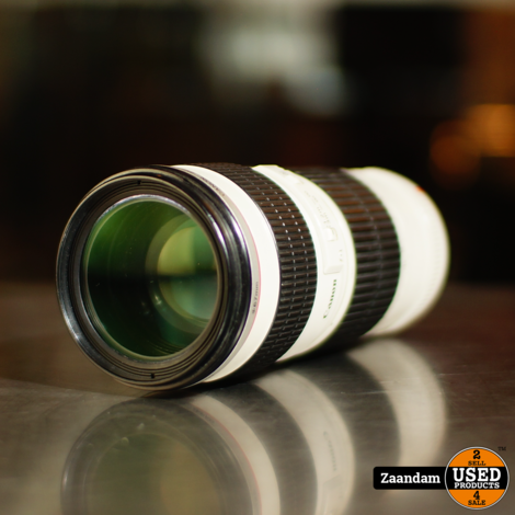 Canon 70-200 F4 L USM Objectief   Incl. garantie