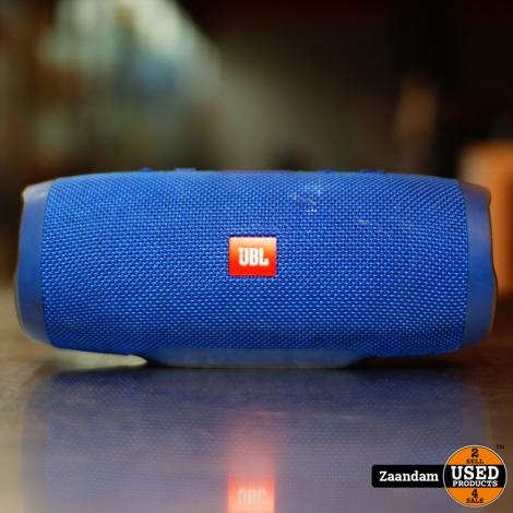 JBL Charge 3 Portable Bluetooth Speaker Blauw   Incl. garantie