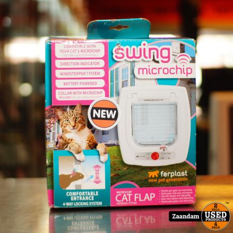 FerPlast Swing Microchip Kattenluik   Nieuw in doos
