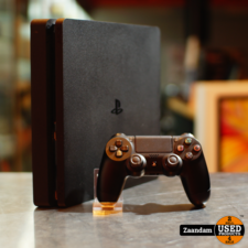 Playstation 4 Slim 500GB Zwart   In nette staat