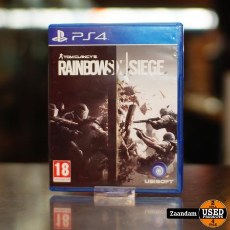 Playstation 4 Game: Rainbow Six Siege