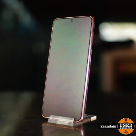 Samsung Galaxy S21 128GB 5G Rose | In zeer nette staat