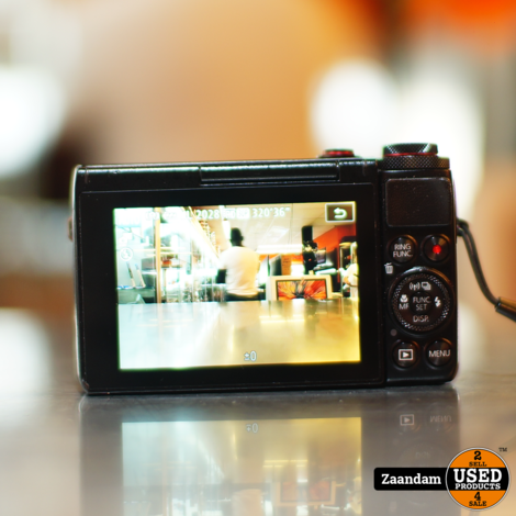Canon G7x Vlog Camera | F1.8 | Wifi | NFC | In nette staat