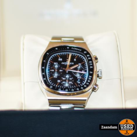 Jacob Zech Florence Z3.1535.001 Horloge | Nieuw in doos