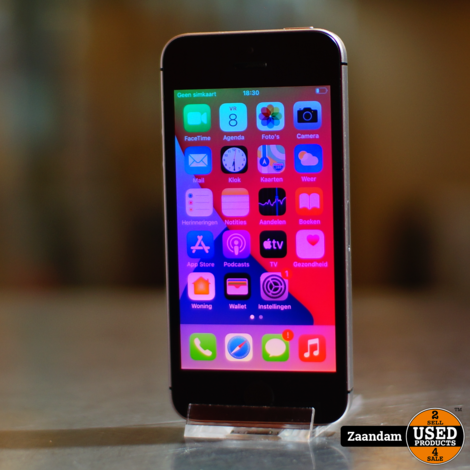 iPhone SE 32GB Space Gray #2 | Incl. garantie