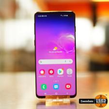 Samsung Galaxy S10 128GB Dual Sim Zwart   In nette staat
