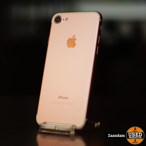 iPhone 7 128GB Rose Gold   Incl. garantie