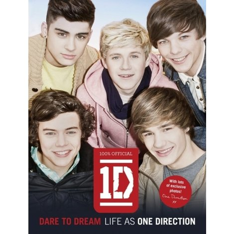 1D One Direction Dare to dream Boek