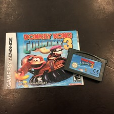 Gameboy Advance | Donkey Kong Country 3