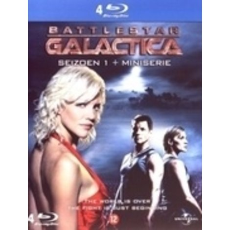 Blu-Ray Battlestar Galactica Seizoen 1