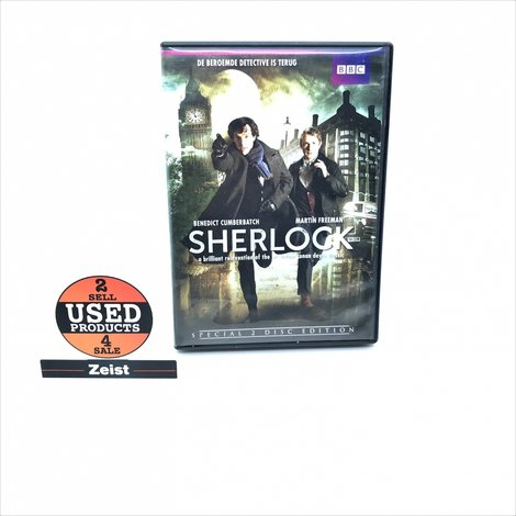 Sherlock | Seizoen 1 | 2 DVD