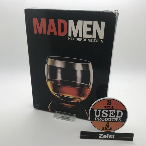 Mad Men | Seizoen 3 | 4 DVD