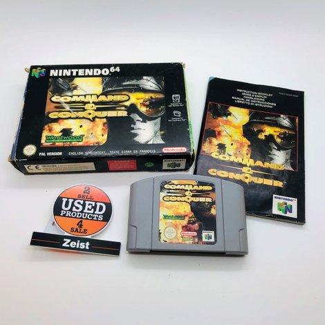N64 Command & Conquer | Incl. Boekje en Verpakking