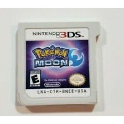 3DS   Pokemon Moon   !!LET OP!! USA Versie, Niet Voor Europese 3DS/2DS