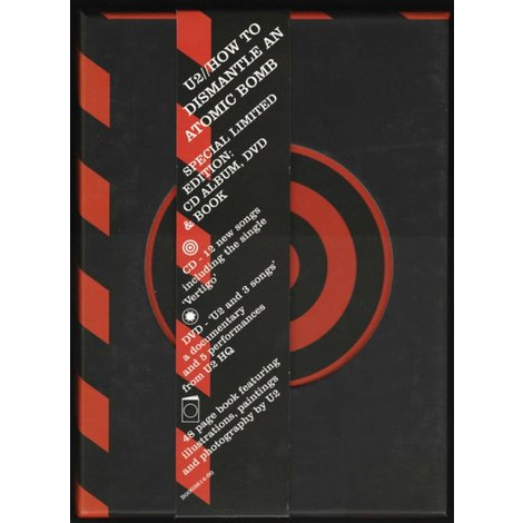 DVD/CD |  U2 How To Dismantle An Atomic Bomb