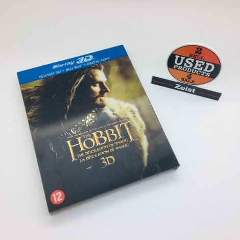 Blu-Ray The Hobbit The Desolation of Smaug 3D