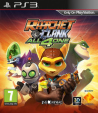 PS3   Ratchet & Clank: All 4 One