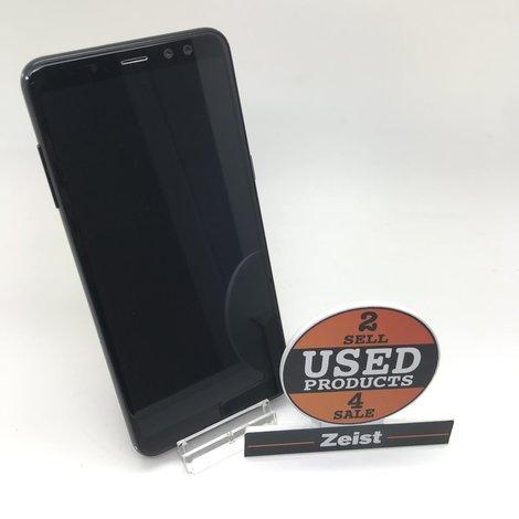 Samsung Galaxy A8 2018   32 GB   Zwart   C-Grade