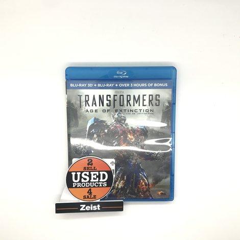 Blu-Ray   Transformers Age Of Extinction 3D   ALS NIEUW