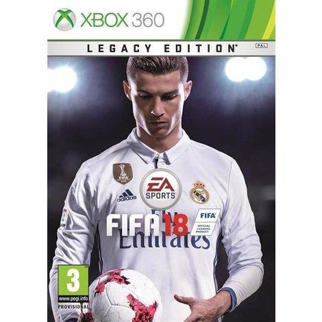 Xbox 360   FIFA 18 - Legacy Edition